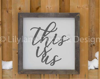 This is Us SVG file