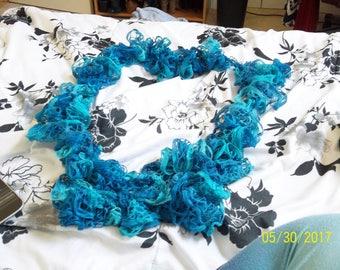 Scarf, Crochet Scarf, Lace Scarf