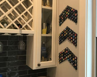 500 Cap Snaps -  DECORATOR PACK - 500 pieces BLACK- Beer and/or Champagne Cap Holder for Creating Collection Displays
