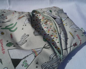 Teepee Pajama bag ecru baby to hang