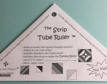 Strip Tube Ruler for Quilting