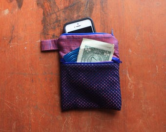 Small Mesh Coin Purse/Zipper Pouch