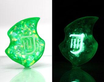 FFXIV Glow in the Dark Soul Crystal/BRD Job Stone Final Fantasy XIV Soul of the Bard Keychain/Necklace FF14