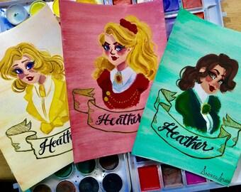 The Heathers: Portrait Set
