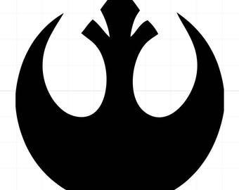 Rebel Alliance car decal