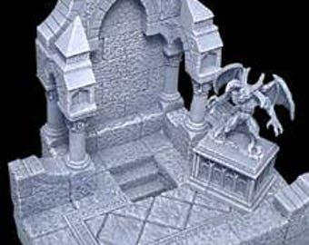 Gothic Hidden Staircase