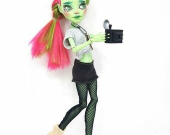 Max- OOAK Monster High Repaint Art Doll