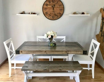 Farmhouse Trestle Table (Local Pickup Only)