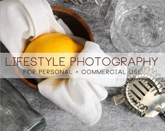 DIGITAL lifestyle photography bar lemon still life commercial use for F&B and more