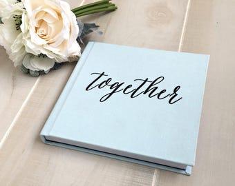 12x12 ILLUSTRATED Cover Custom Designed Wedding Album