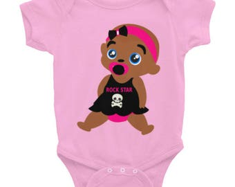 "Rockstar"" Infant Bodysuit"