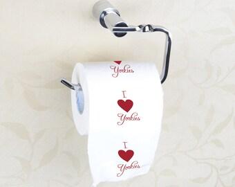 Yorkie Toilet Paper
