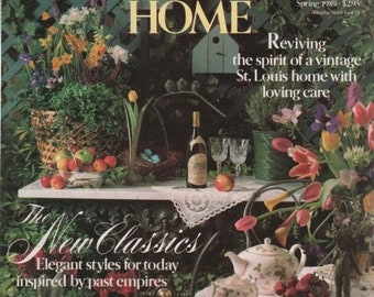 Traditional Home BHG Spring 1989 Magazine The New Classics