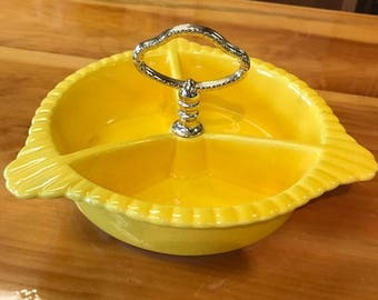 Yellow Candy Dish