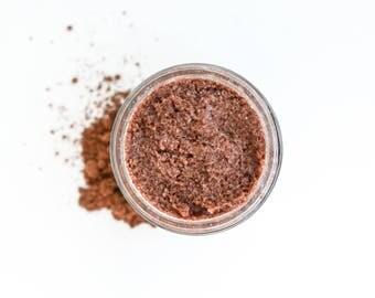 Cocoa Sugar Scrub, Vanilla Sugar Scrub, Sugar Scrub, Face Scrub, Exfoliator, Natural Sugar Scrub, Gift for Her