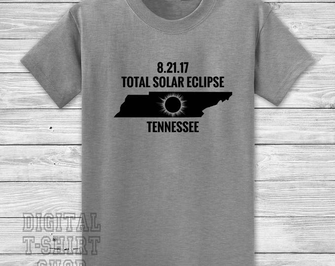 8.21.17. Total Solar Eclipse Tennessee T-shirt