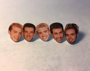Nsync Stud Earrings