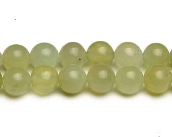 8mm new jade beads new jade serpentine stones light green jade gemstone light green beads jade NOT dyed gemstone chinese jade supply jewelry