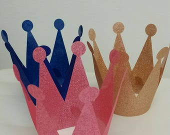 Prince & Princess Party Crown - Party Hat, First Birthday, Birthday Party Pkt 6