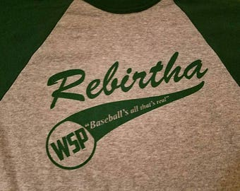 Rebirtha Baseball Widespread Panic Lot Shirt GREEN
