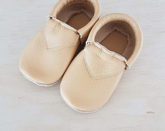 Moccs, Leather Toddler Moccasins, Kids Moccs, Baby Moccasin Shoes, Moccasin, Baby Moccasin, Trendy Baby Clothes, Baby Shower Gift, Baby Gift