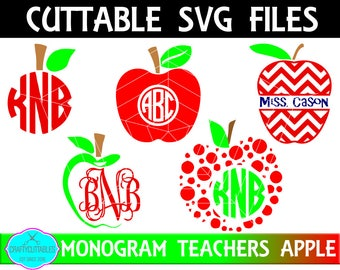 Teachers SVG, PNG Files Silhouette Cameo and Cricut Files