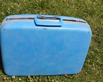 Samsonite Small Nesting Suitcase Baby Blue