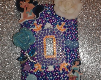 Beautiful Princess light switch plate cover