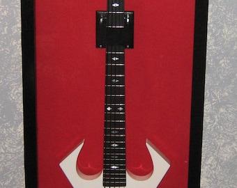 Guitar Display Case Solid Hardwwod Electric Guitar Display Case