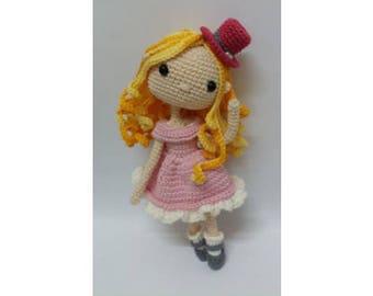 Crochet Doll Pattern / Amigurumi doll pattern - Wonderful Bella