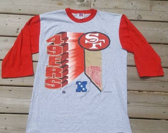 San Francisco 49ers Vintage Shirt Mens Size Medium NFL 1994 90s