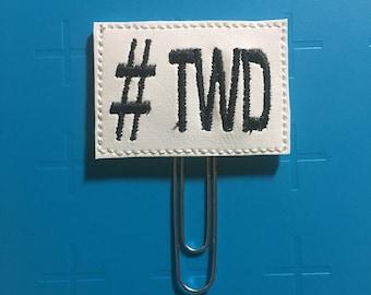 TWD Planner Clip