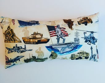 Armed Forces Decor Pillow