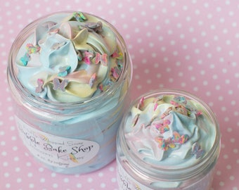 Fluffy Whipped Soap - Unicorn Kisses - 4 or 8 oz. Valentine's Day