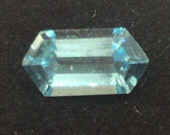 1.47 carats - Swiss Blue Topaz - Gemstone- Fancy Shape - 105DDK