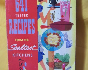 641 Tested Recipes from the Sealtest Kitchens (1954 softcover)