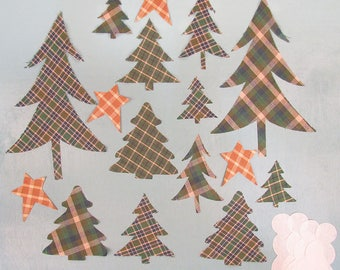 Snow Scene Cut Out Appliques - 20 pcs - by Jubilee Fabric