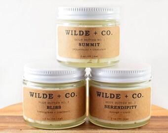 Body butter gift set, lotion set, body butter set, sample gift set, sample set, body butter, organic body butter, whipped body butter