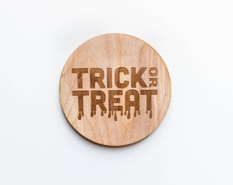 Trick or Treat Coaster Set