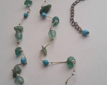 Fancy Gemstone Necklace