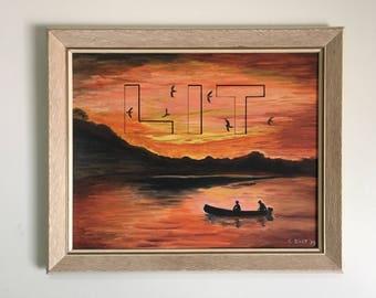 "LIT Painting (19"" x 23"")"