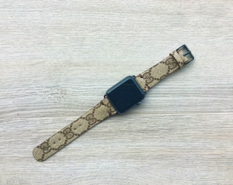 GUCCI Apple Watch Band, 42mm, 38mm, Gold,Rose Gold, Silver, Black, GC Watch band
