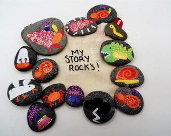 sharing the shell story stones