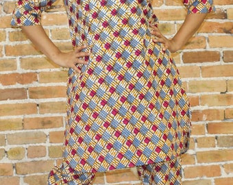 Ankara Two Piece Tunic and Pants