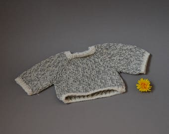 Sweater made of cotton - Clothes for Waldorf doll Clothes for Steiner doll Waldorf doll sweater Steiner doll sweater knit knitwear jumper