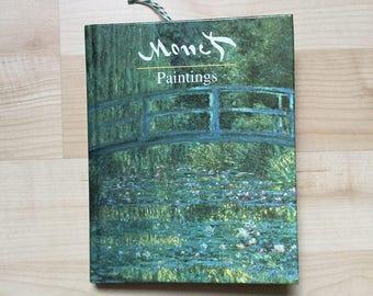 Claude Monet inspired junk journal / notebook