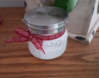 Sugar Shaker Mason Jar Shabby Chic