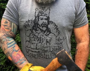 Mountain Dude Trading Post T-Shirt