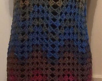 Chimera Crochet Wave Dress