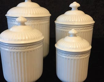 Mikasa Italian Countryside 4 Piece Canister Set